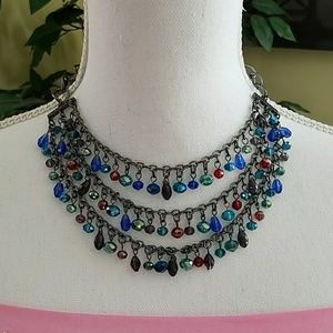 Gorgeous blue necklace